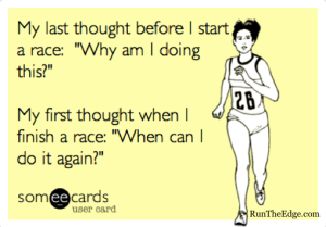 Truth - what gets me signed up for every race!
